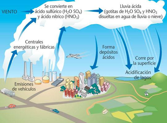 ¿Qué es la lluvia ácida? ¡Cuidemos el planeta