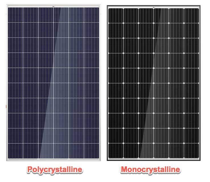 distintos tipos de paneles