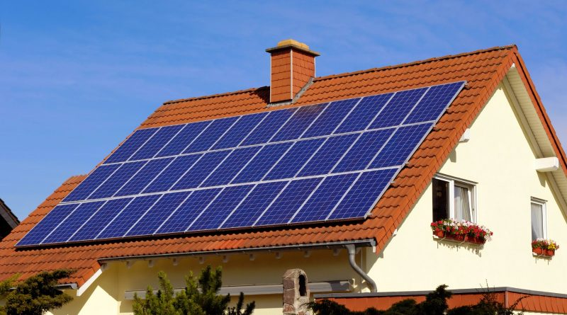 montar un panel solar en casa