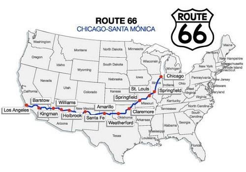La ruta 66 en coche eléctrico