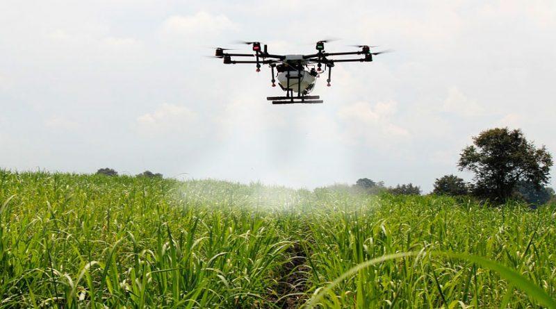 drones para la agricultura