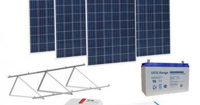 kit solar para instalar
