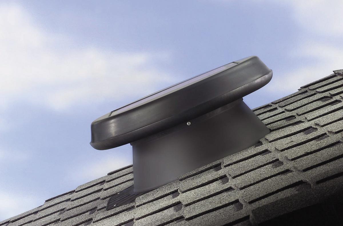 Ventilador y extractor solar
