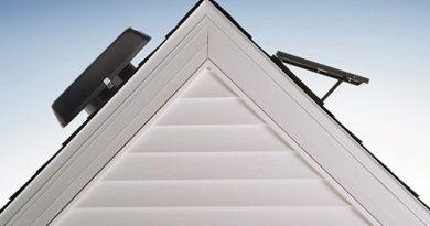 extractor de aire solar para techo