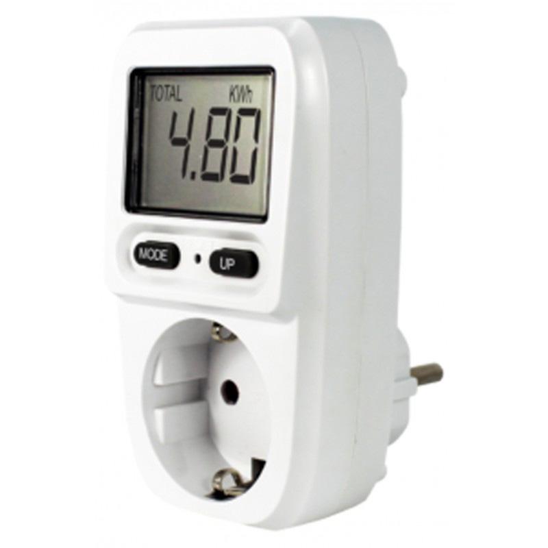 monitor de control de consumo eléctrico