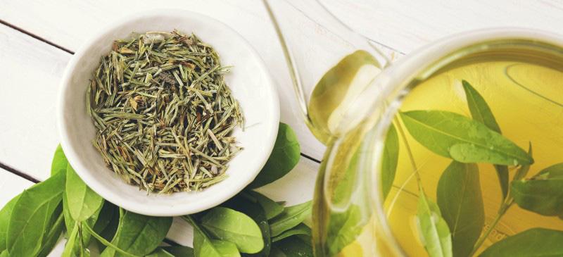 para qué tomar té verde