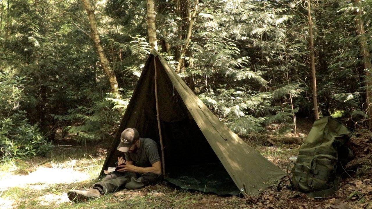 que llevar en una acampada al bosque