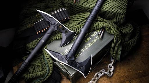 Tomahawk herramienta para sobrevivir