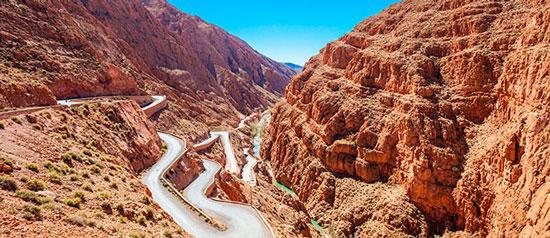 naturaleza en Marruecos