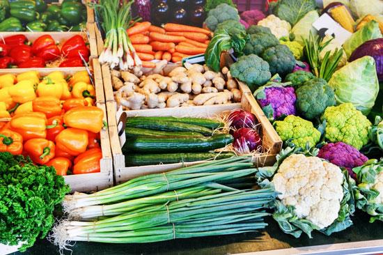 beneficios de las frutas y verduras ecológicas