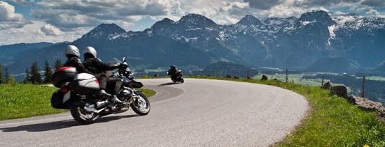 Tour en motos