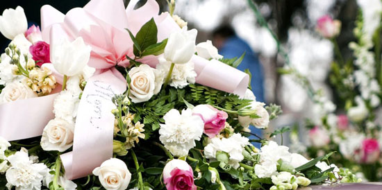 flores para condolencias